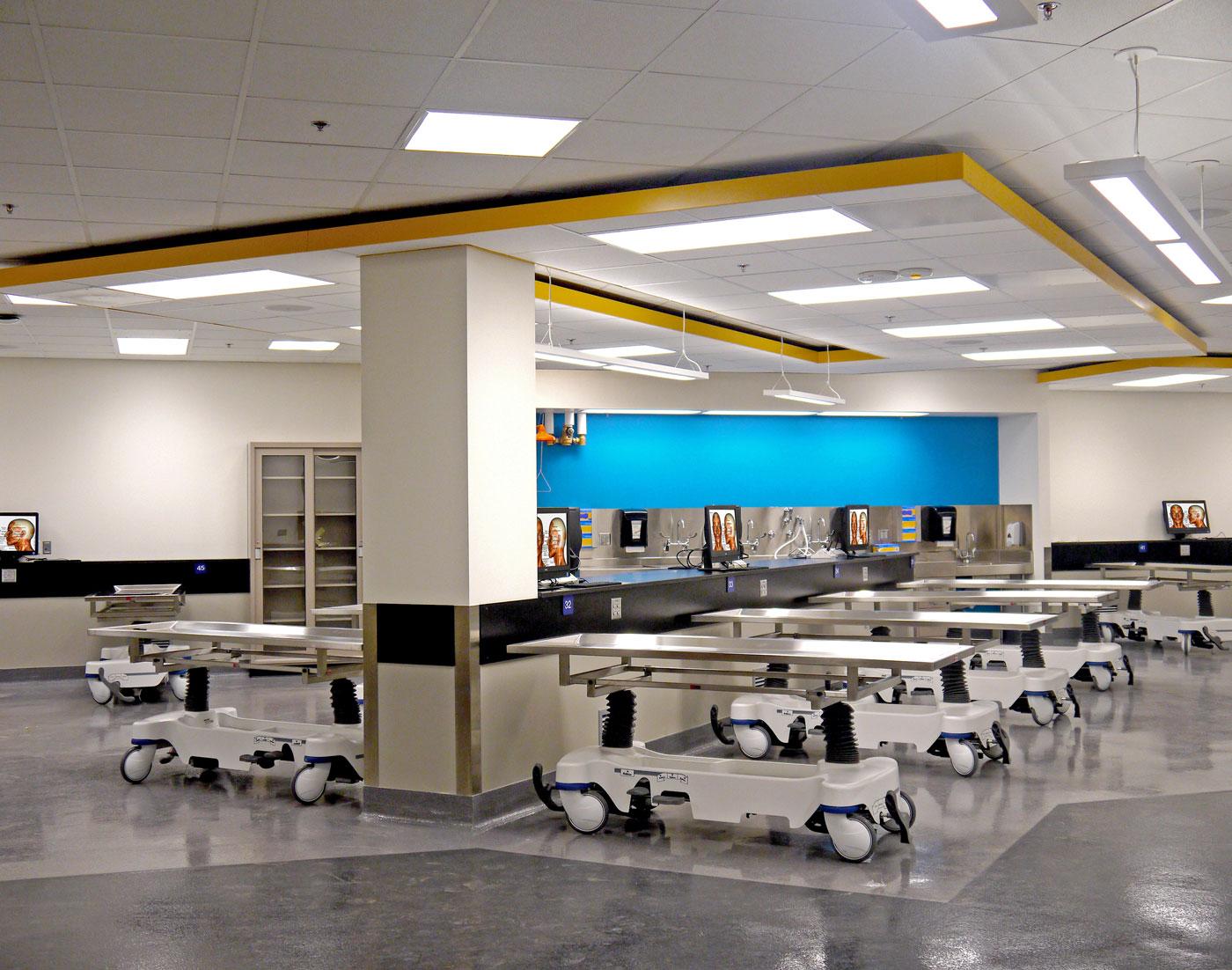 Anatomy Laboratory - University of Toledo - Health Science Building ...