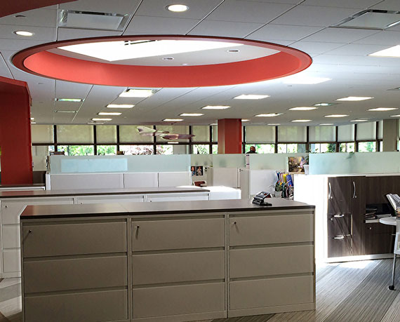 Open Office - Natural Day-lighting